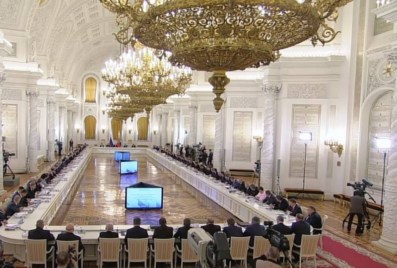 Russian State Council comes out of the shadows